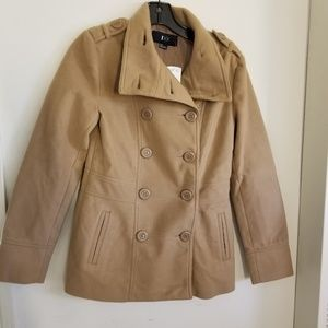 NWT Forever 21 Double Breasted Coat